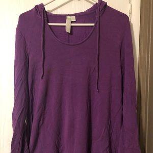 Soft purple pullover by GreenTea